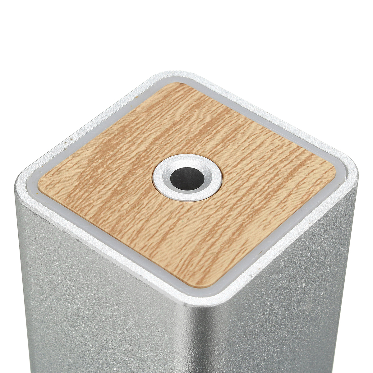 Portable Mini USB Wooden Ultrasonic Aroma Humidifier Diffuser Air Fresher Purifier Home Car