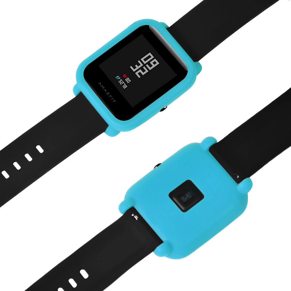 Bakeey Soft TPU Protective silicone soft case for Xiaomi Huami Amazfit Bip Pace Youth Smart Watch