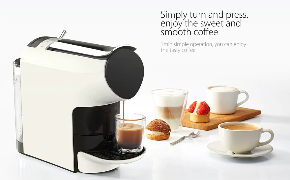SCISHARE Capsule Espresso Coffee Machine Automatically Extraction Electric Coffee Maker From Xiaomi Youpin