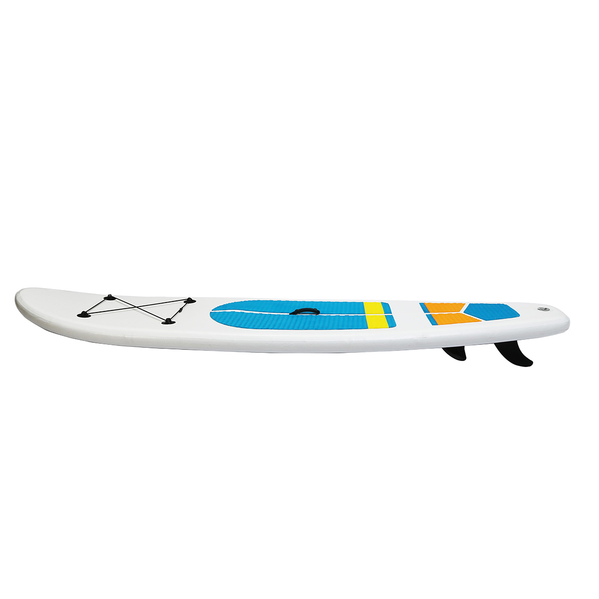Outdoor 9.5ft Inflatable Surfboard Set Stand Up Saddle Surf Boat Wave Ride Water Sports SUP Board