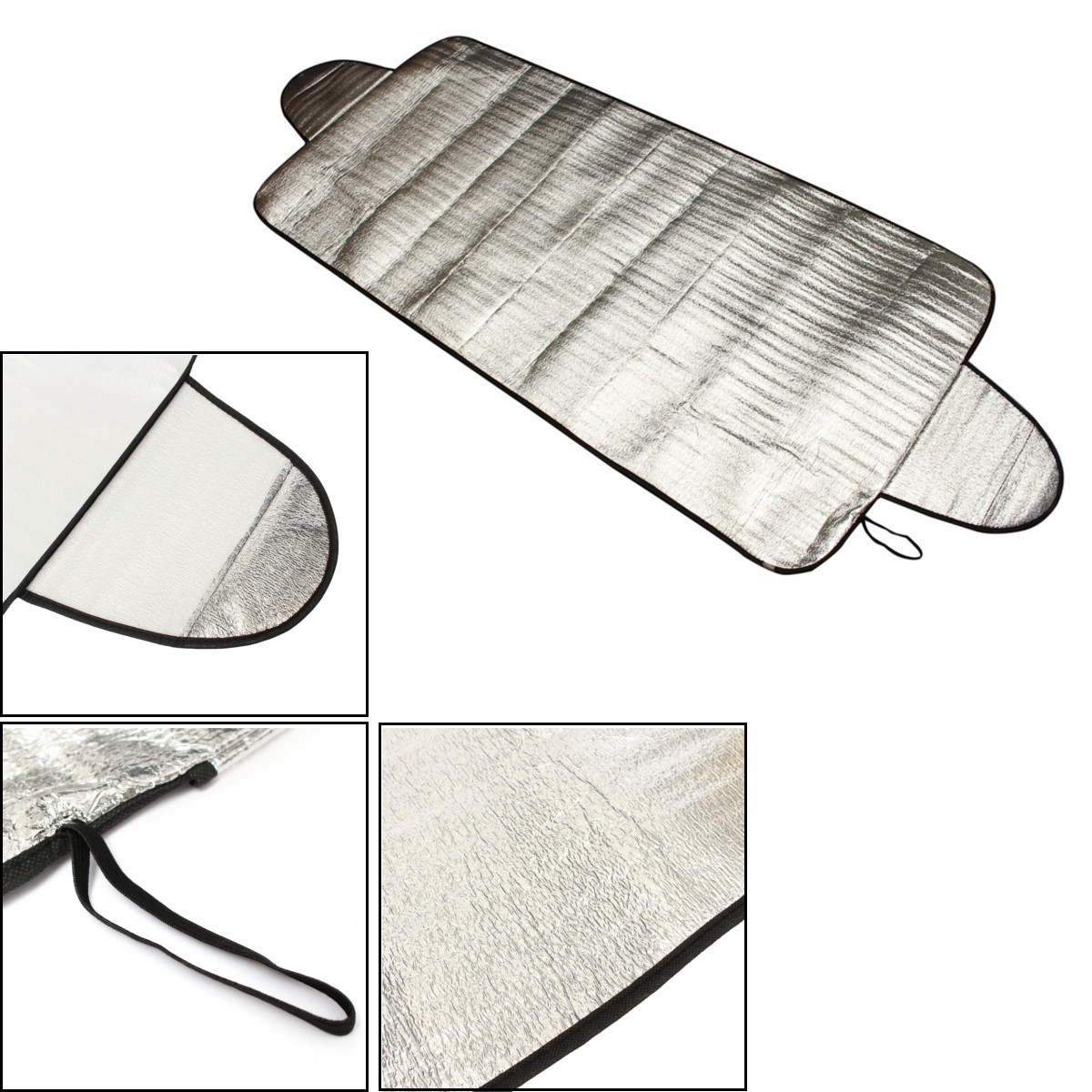 Car Windscreedn Cover Heat Sunshade Anti Snow Frost Ice Shield Dust Protector