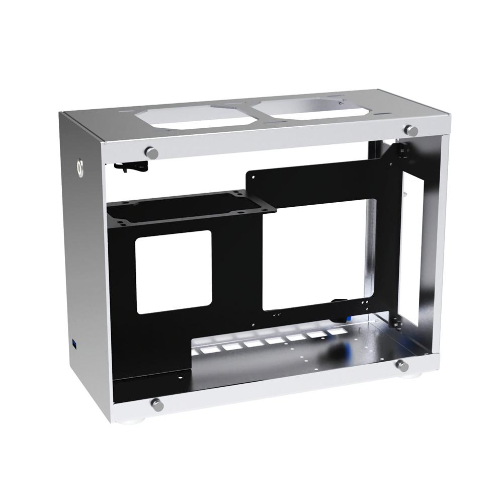 CEMO A4 Aluminum Alloy Tempered Glass ITX Computer Case Mini Case