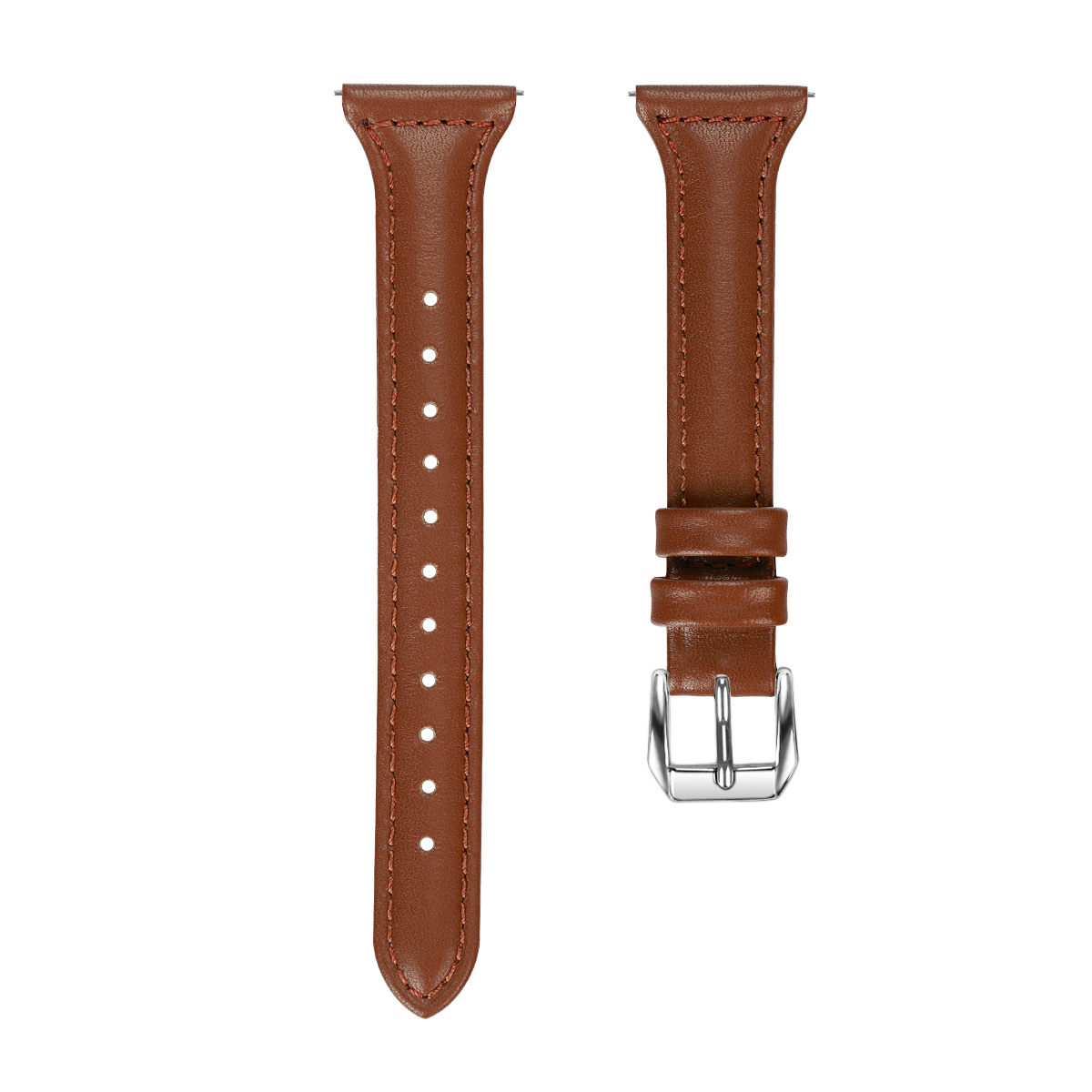 Replacement 14mm Leather Wrist Watch Band Strap For Fitbit Versa