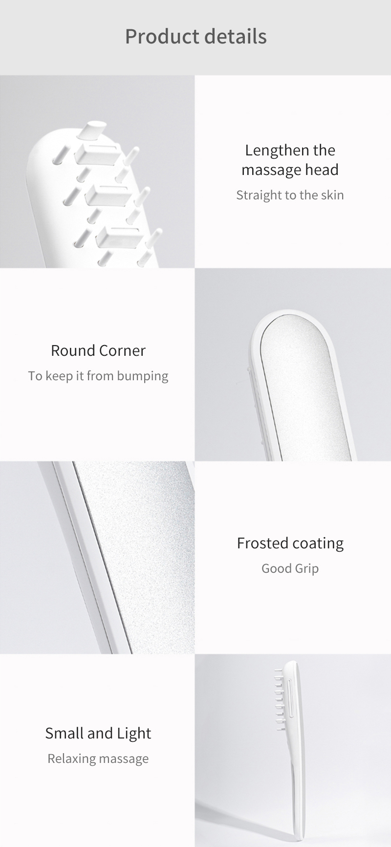 CARN Pets Smart Ozone Sterilization Comb Electric Combs From Xiaomi Youpin Care Pet Health With TYPE-C Deodorant Efficient Sterilization