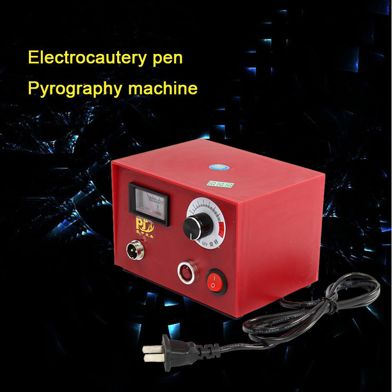 220V-240V 50W Multifunction Pyrography Machine Gourd Wood Pyrography Crafts Tool