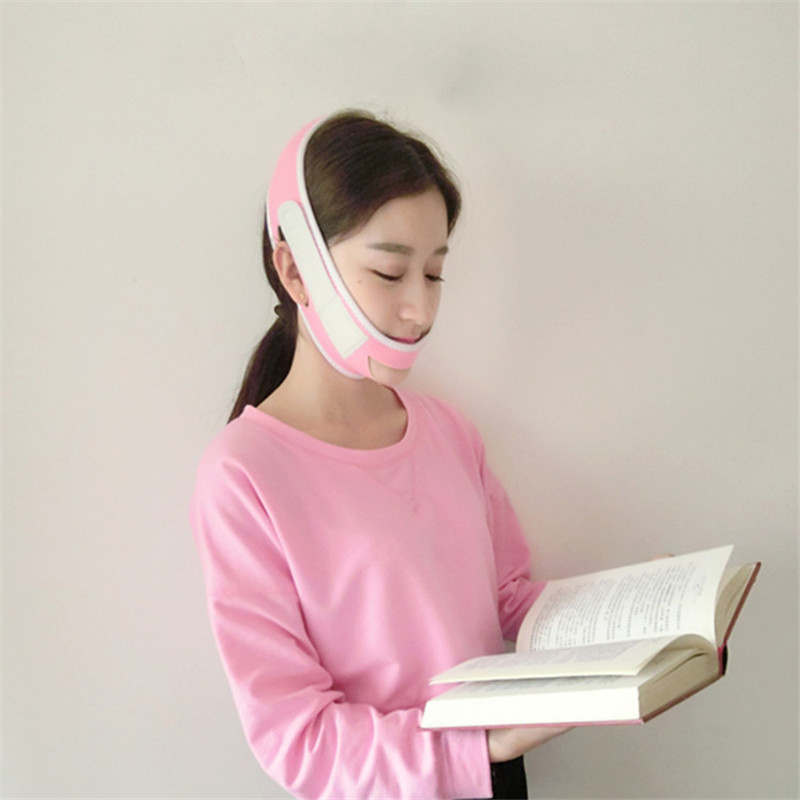 Manual Massager Bandage Belt Face Lift Firming Mask Bands