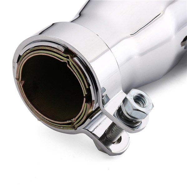 Universal 15'' Motorcycle Tapered Exhaust Muffler Silencer For Cafe Racer Custom