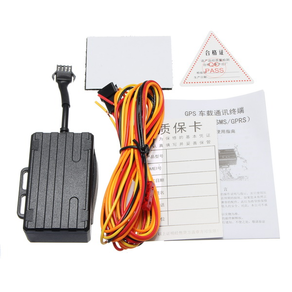 GPS Tracker Real Time Tracking Locator Motorcycle Car with Apps For Android/iPhone Phone