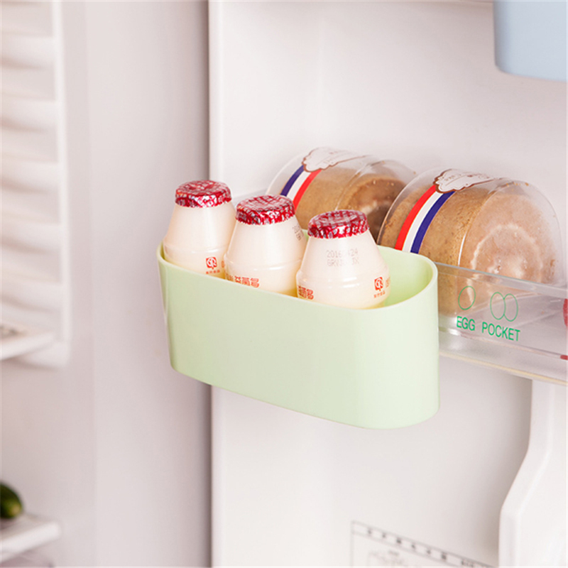 Candy Color Refrigerator Fridge Organization Freezer Door Storage Box Container Small Storage Basket