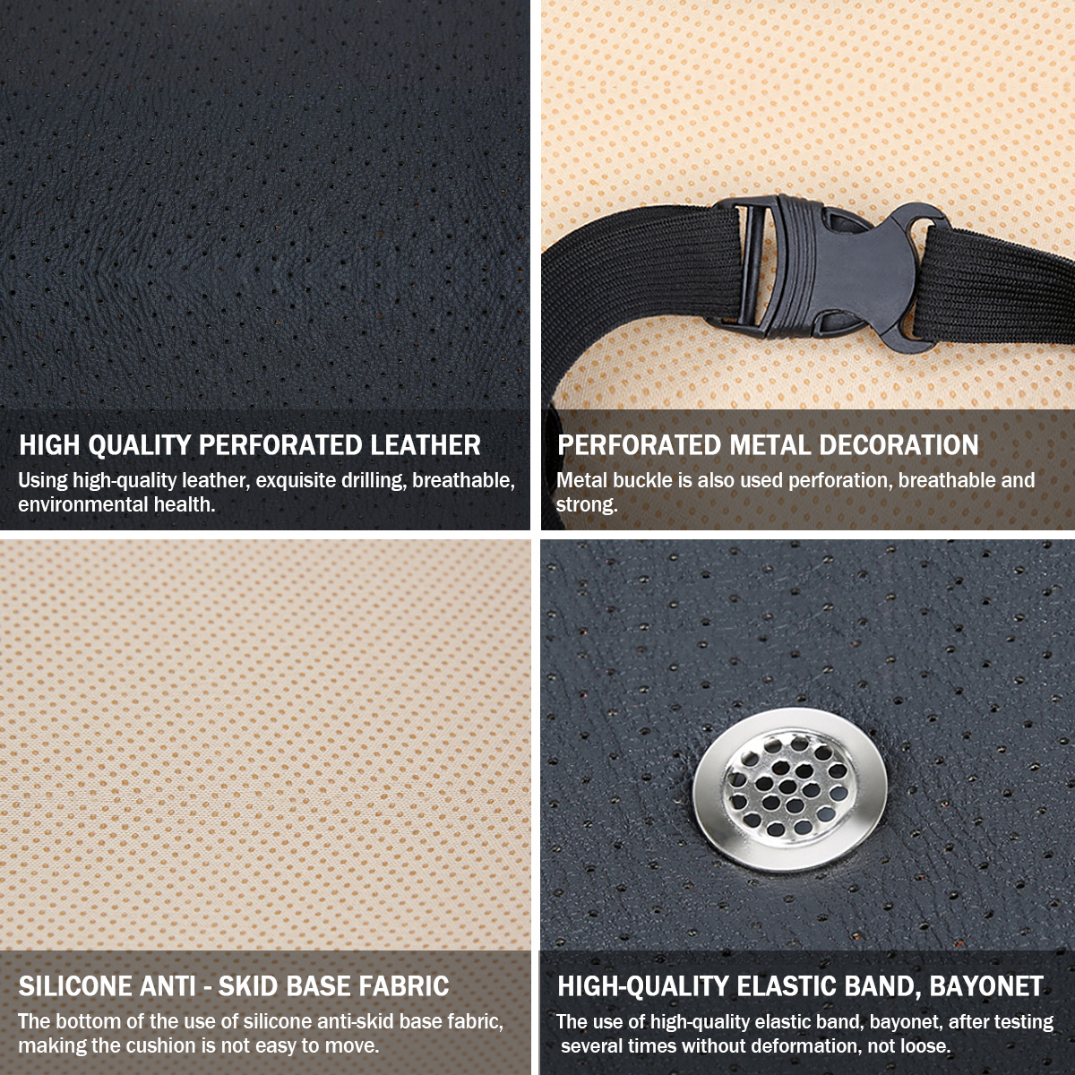 3 In 1 Electric Auto Ventilation Seat Cushion Cooling & Heating & Massage Multifunction