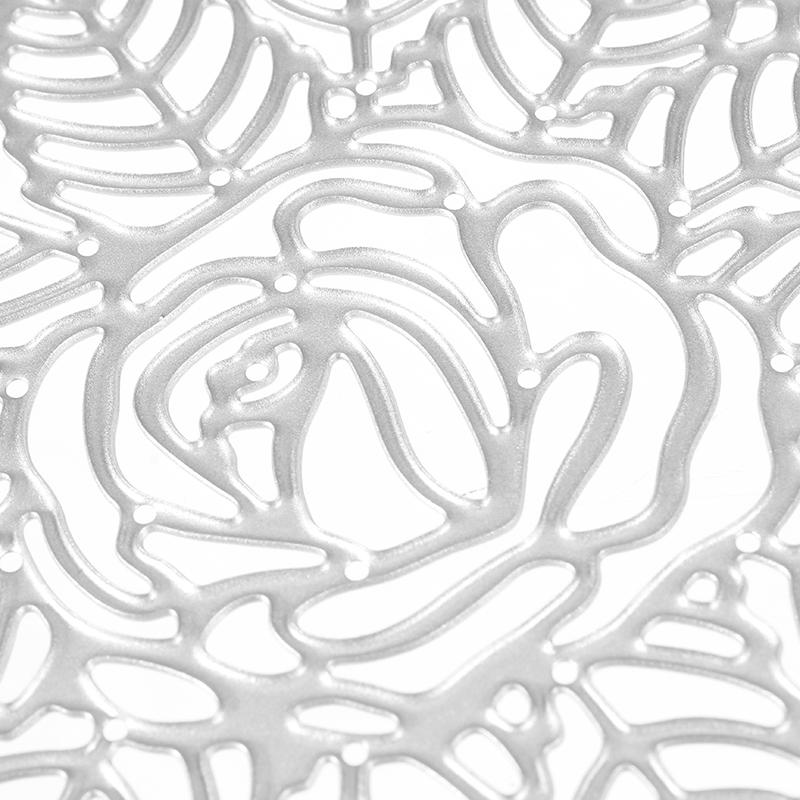 Rose Flower Metal Die Cutting Stencil Photo Album for Scrapbooking Embossing Decorative Craft