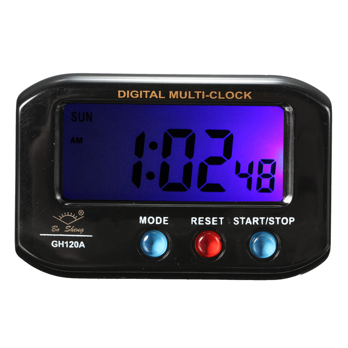LCD Digital Time Date Alarm Clock With Snooze Night Light Function