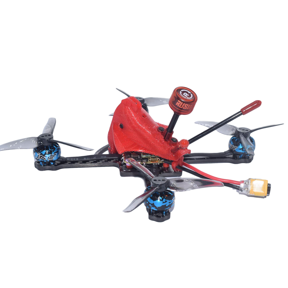 AuroraRC PachRay3 140mm 3Inch 3-4S 25A ESC 1404 3800KV Brushless Motor Compatible with TBS UNIFY VTX FPV Racing Drone - Photo: 5