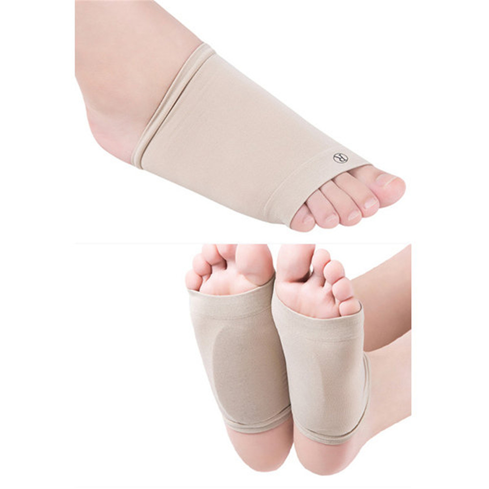 Foot Care Support Cushion Pad Socks Flat Feet Orthope Pad