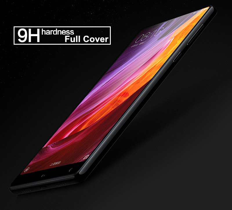 BAKEEY Anti-Explosion Full Cover Tempered Glass Phone Screen Protector for Xiaomi Mi Mix 2/Mi MIX 2S