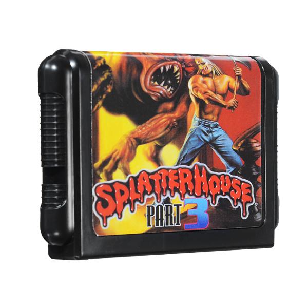 Splatter House Game Cartridge 16 bit Game Card for Sega MegaDrive Genesis PAL NTSC System
