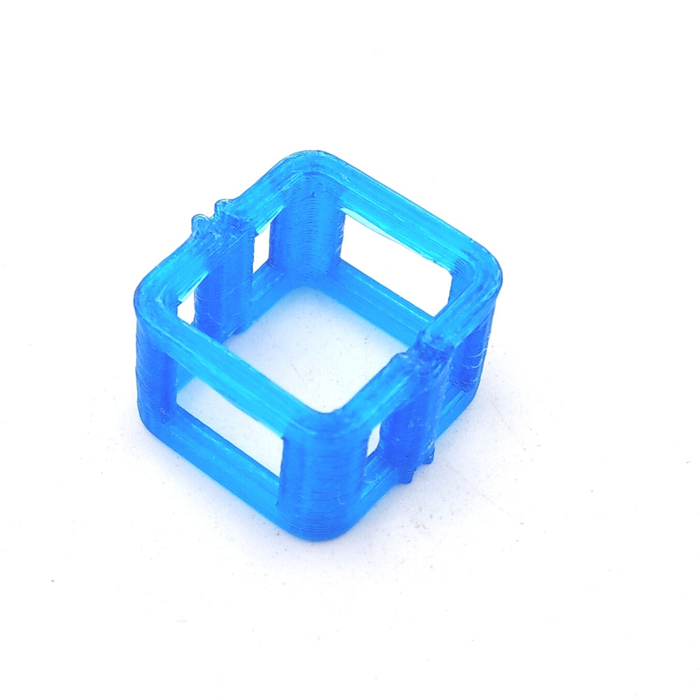 3D Printed TPU Lipo Battery Support Fixing Mount Blue Version for 300mAh Battery Mobula7 RC Drone