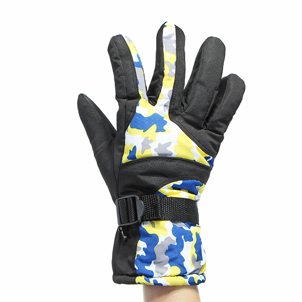 Motorcycle Winter Waterproof Ski Snowboard Snow Thermal Warm Gloves