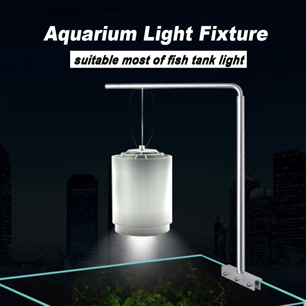 Universal Aluminium Aquarium Light Hanging Stand Holder For Fish Tank Plant Lamp