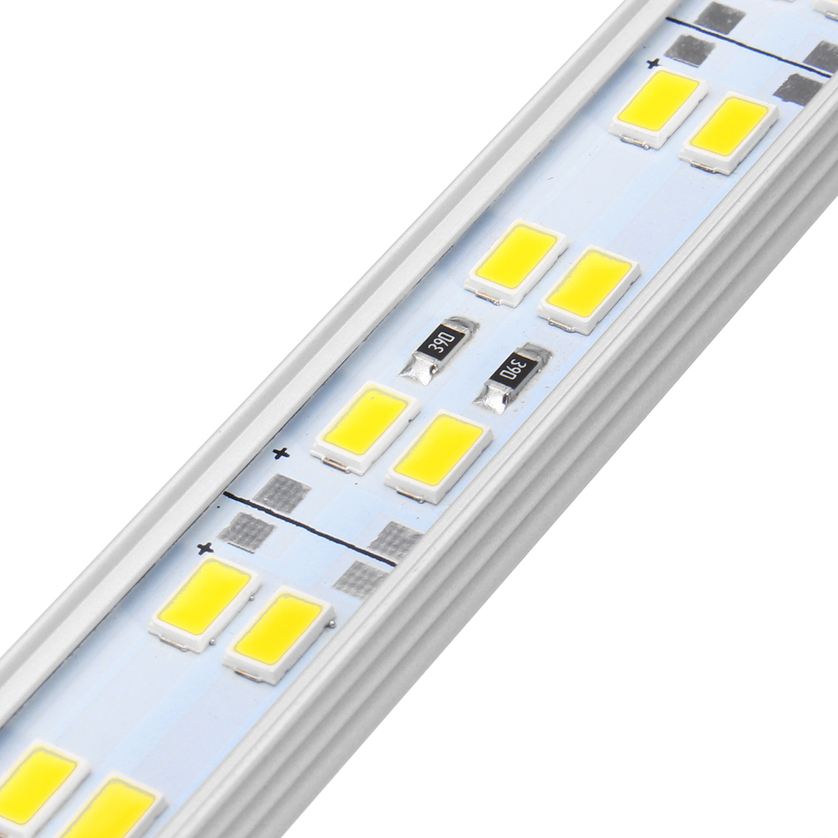30CM 8W SMD5630 U Shape Double Rows LED Rigid Strip Hard Bar Light DC12V