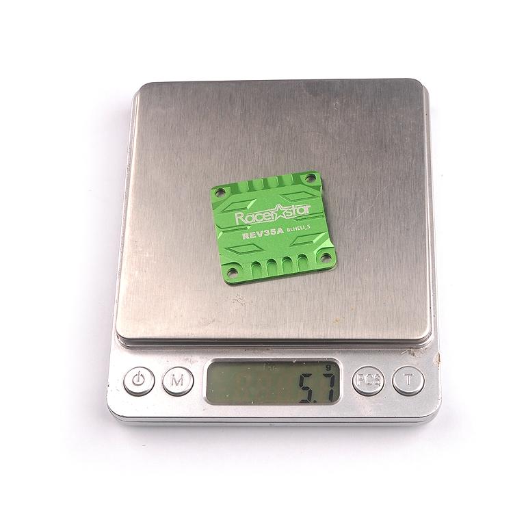 Racerstar REV35A CNC Aluminum Alloy Heat Sink Protective Plate for REV35A BS30A Tekkos 30A 4in1 ESC - Photo: 8