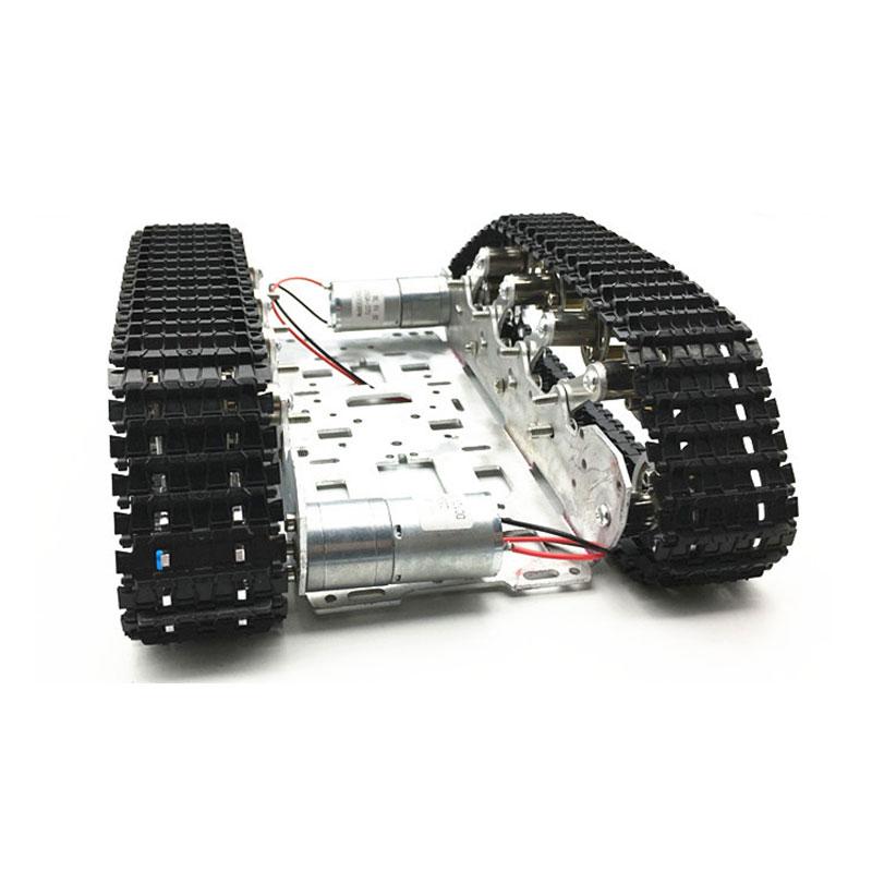 Diy Rc Robot Tank Theo Dõi Bộ Khung Xe Ô Tô Với Crawler