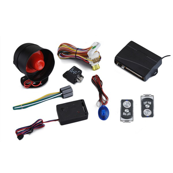 12V AW010 JP-D68 433.92MHz Car Sercurity Alarm System with 2 Pcs Remotes