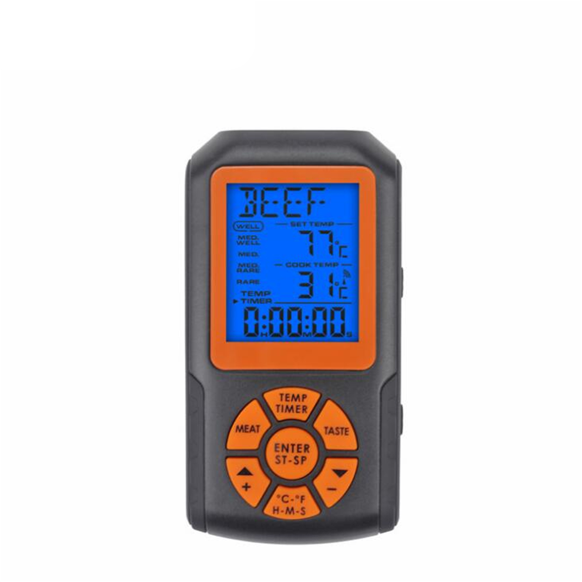 BBQ Thermometer Wireless Remote Digital Meat Thermometer