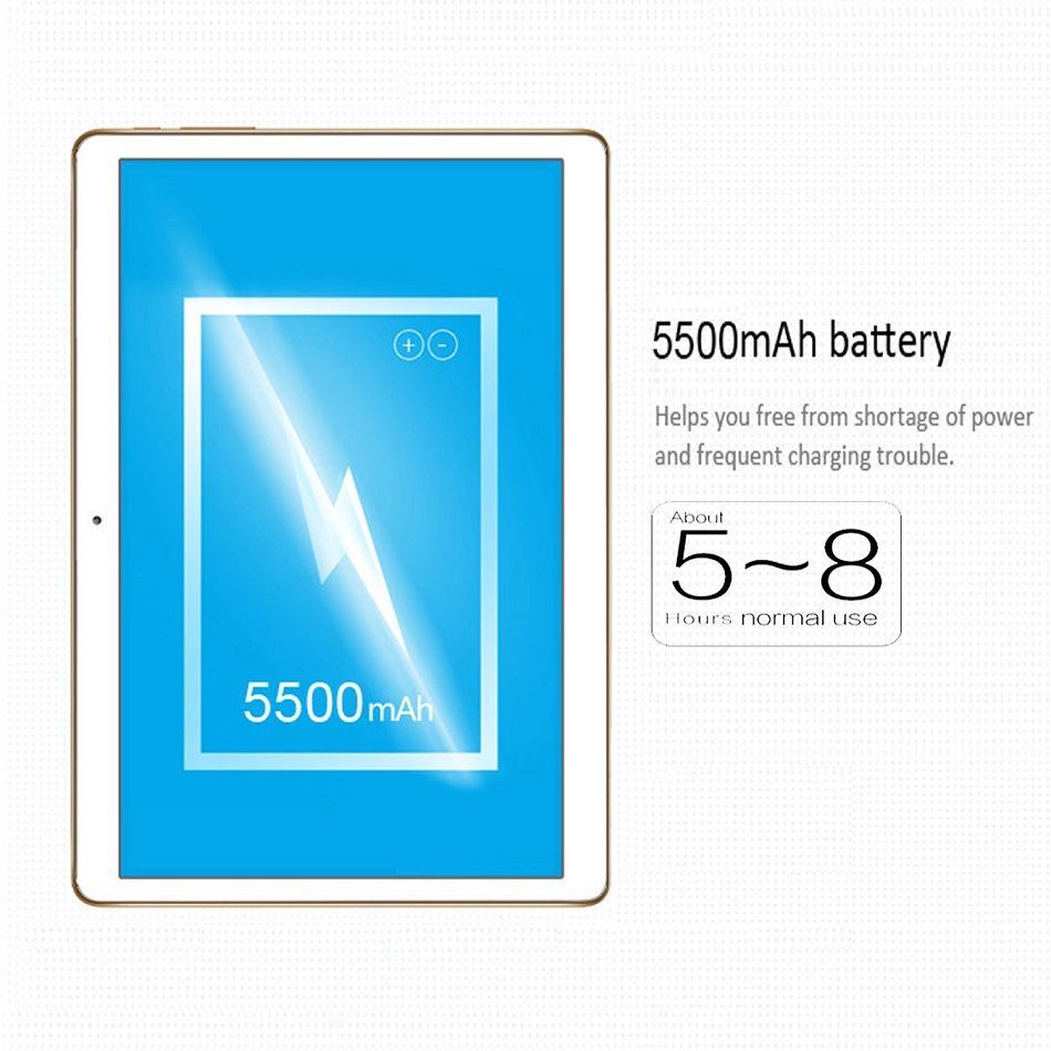 Binai Mini10 32GB MediaTek MT6753 Octa Core 10.1 Inch Android 7.0 Dual 4G Phablet Tablet Rose Gold