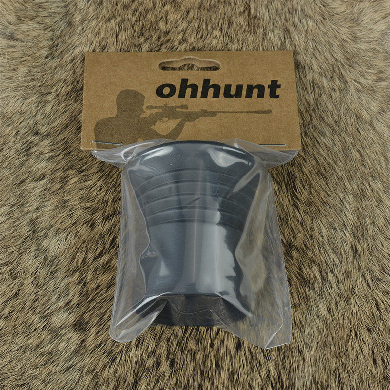 Ohhunt 40mm Inner Hunting Riflescope Lens Rubber Eyeshade Tactical Optics Sight Eye Protector Scope Accessories