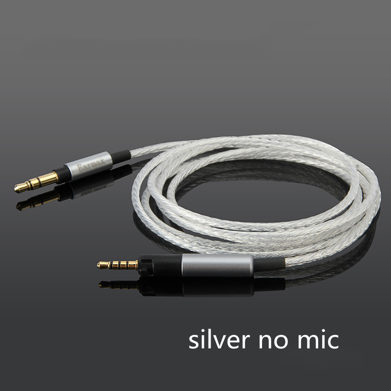Earmax 3.5mm To 2.5mm Headphone Upgrade Cable Urbanite HIFI Silver Plated Audio Cable for Sennheiser