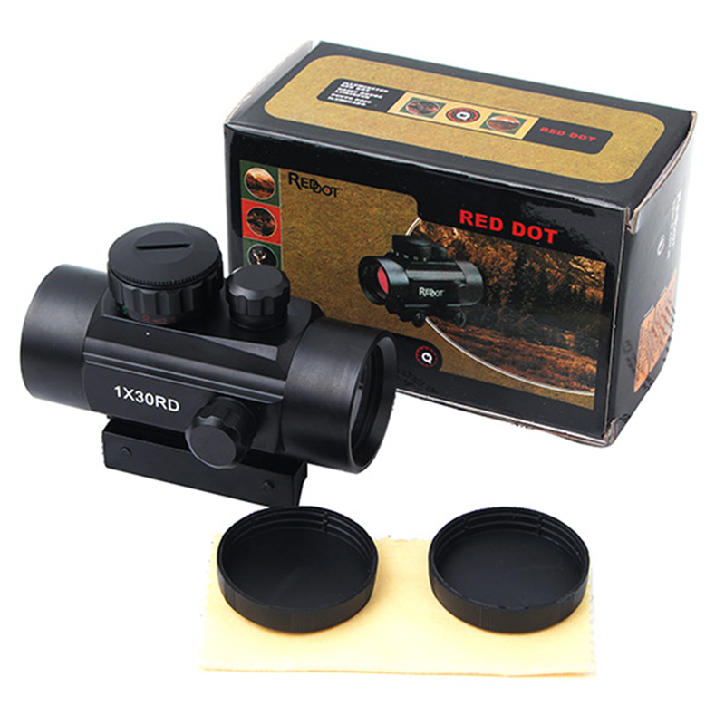 KALOAD 1X30RD Tactical Hunting Holographic Red Dot Sight Green Micro Dot Reflex Riflescopes