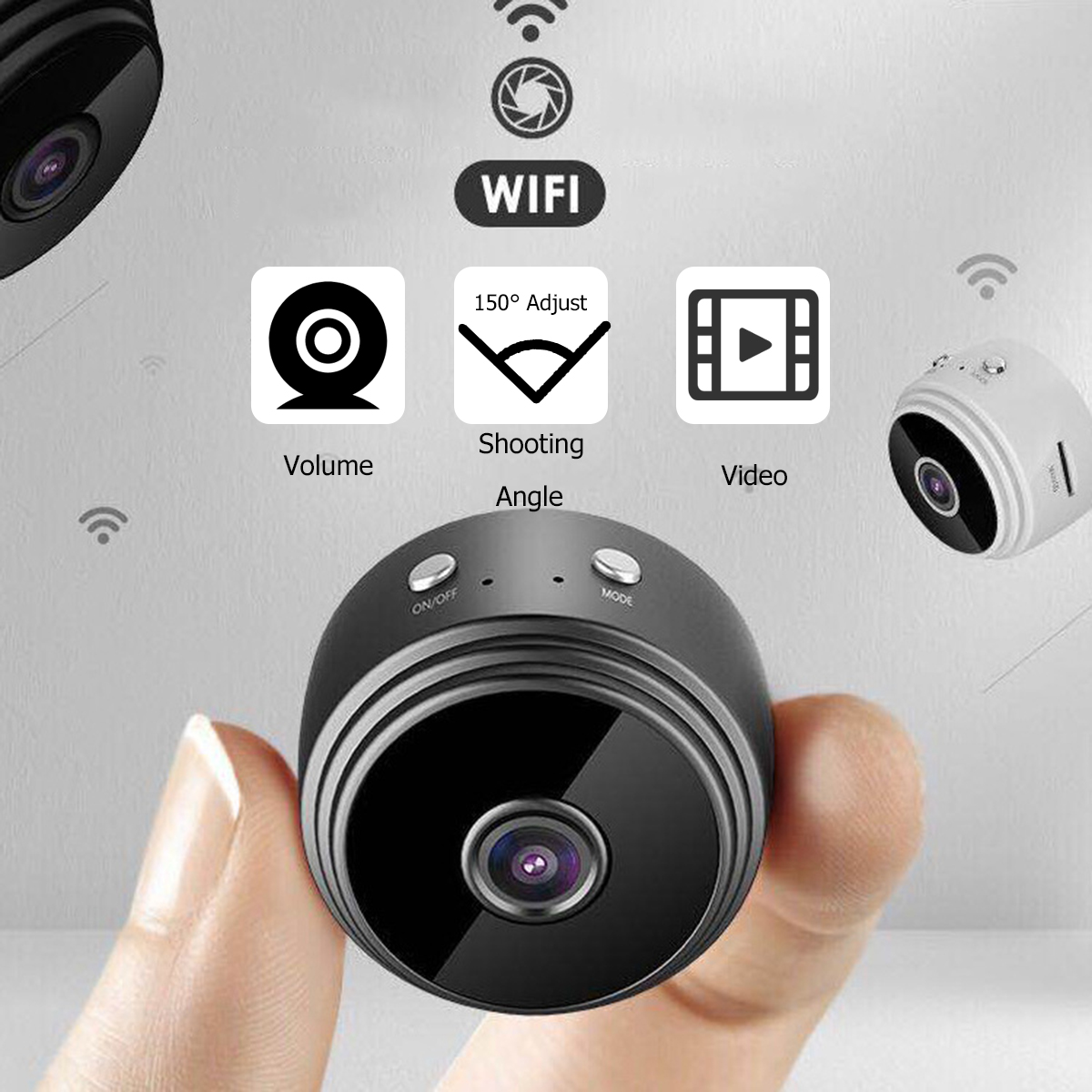 1080P HD IP WIFI Mini Camera Camcorder Wireless Home Security Car DVR Night Vision