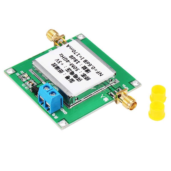 Low Noise RF Amplifier Repeater Noise NF=0.6 50MHZ To 4GHZ 18dB Gain