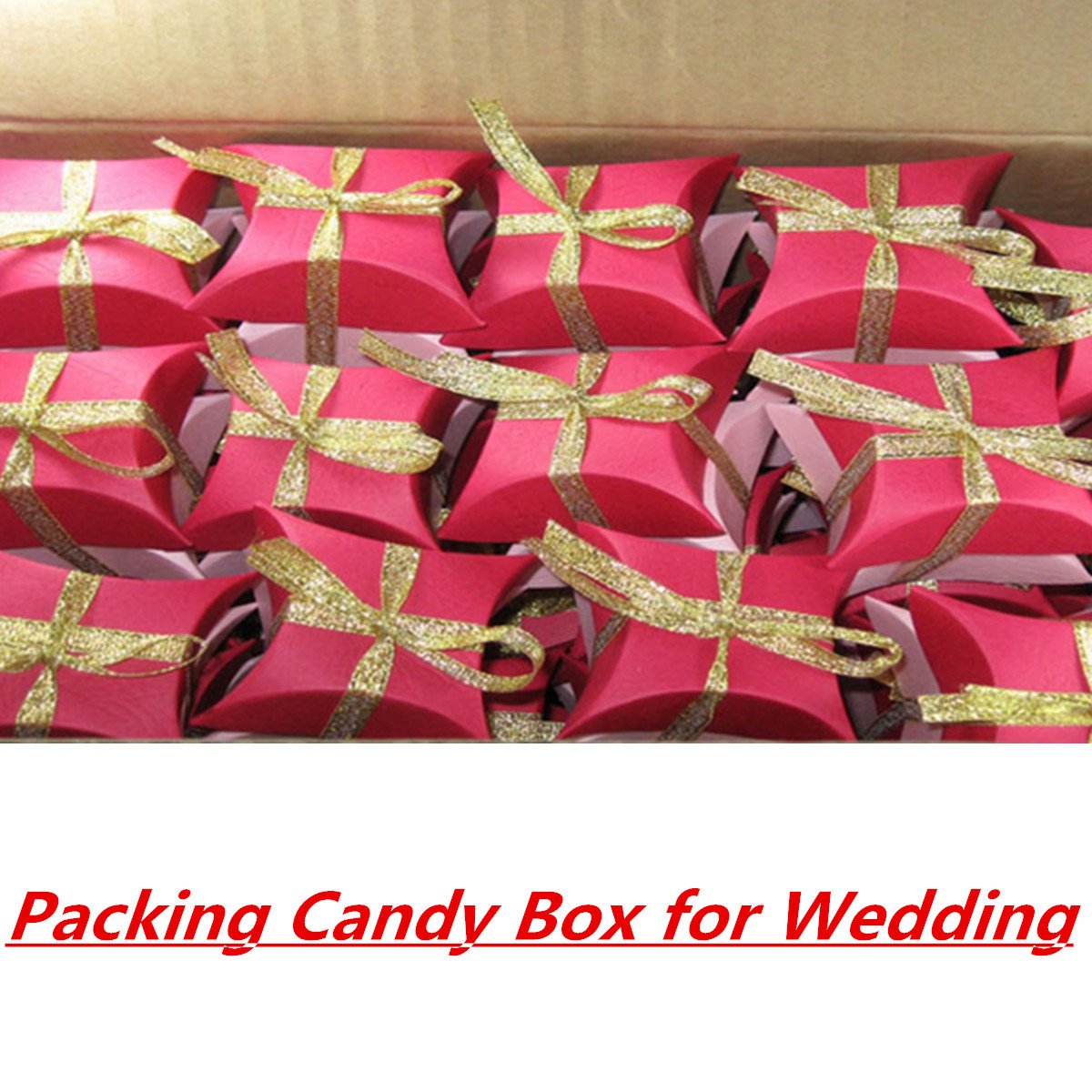 50mm 25 Yards Wire Edge Gold Silver glitter Effect Ribbon Wedding Party Gift Packing Accessories