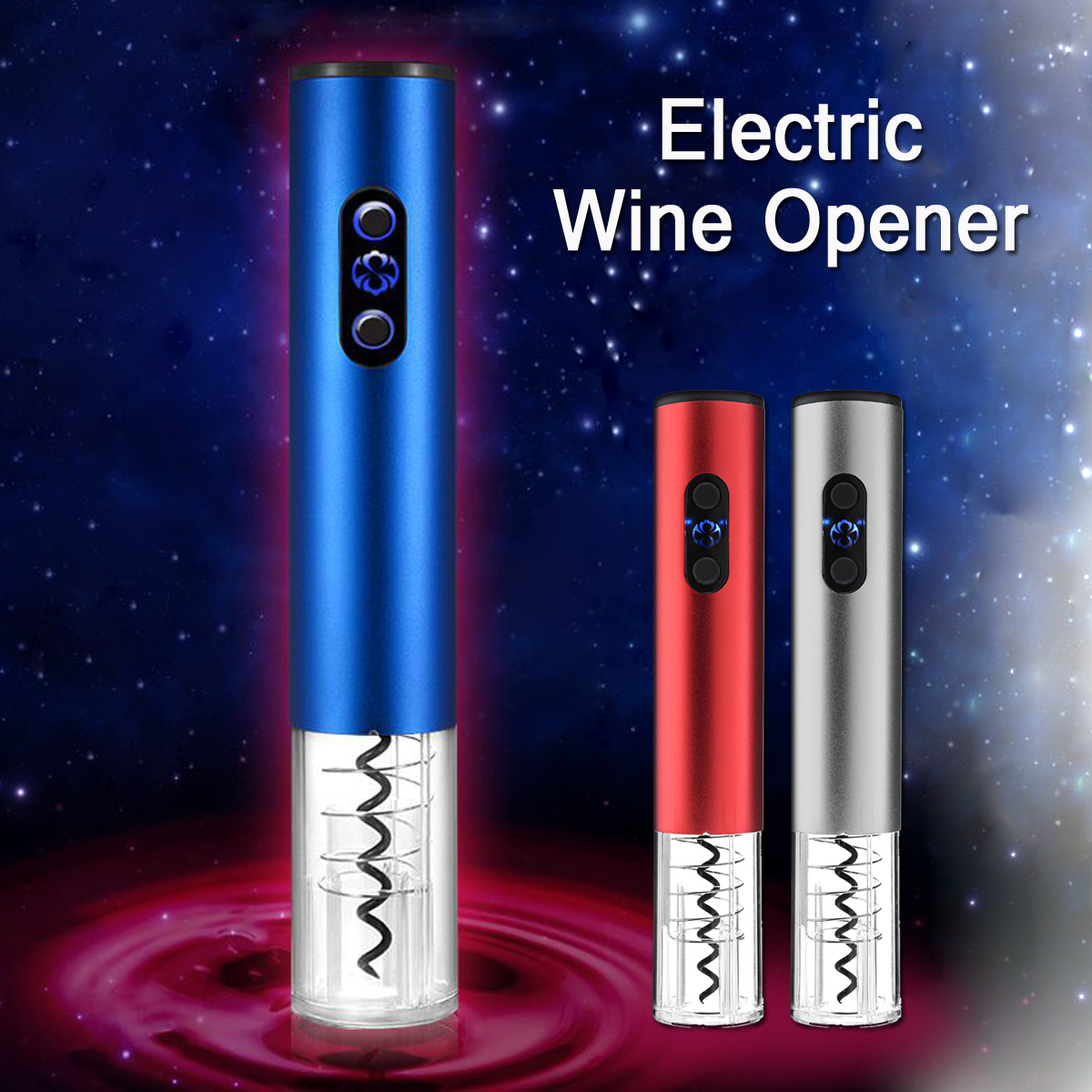 110V-220V Electric Wine Opener with Charger Wine Bottle Opener Wine Accessories Gift Tool Set