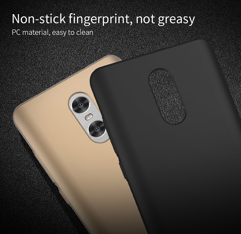 Hard PC Ultra Thin Back Cover Case For Xiaomi Redmi Note 4 / Redmi Note 4X 4G RAM +64G ROM