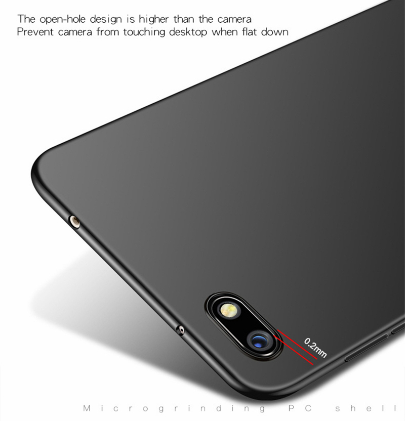 Bakeey Ultra-Thin Matte Hard PC Anti-Fingerprint Protective Case For Xiaomi Redmi 6A