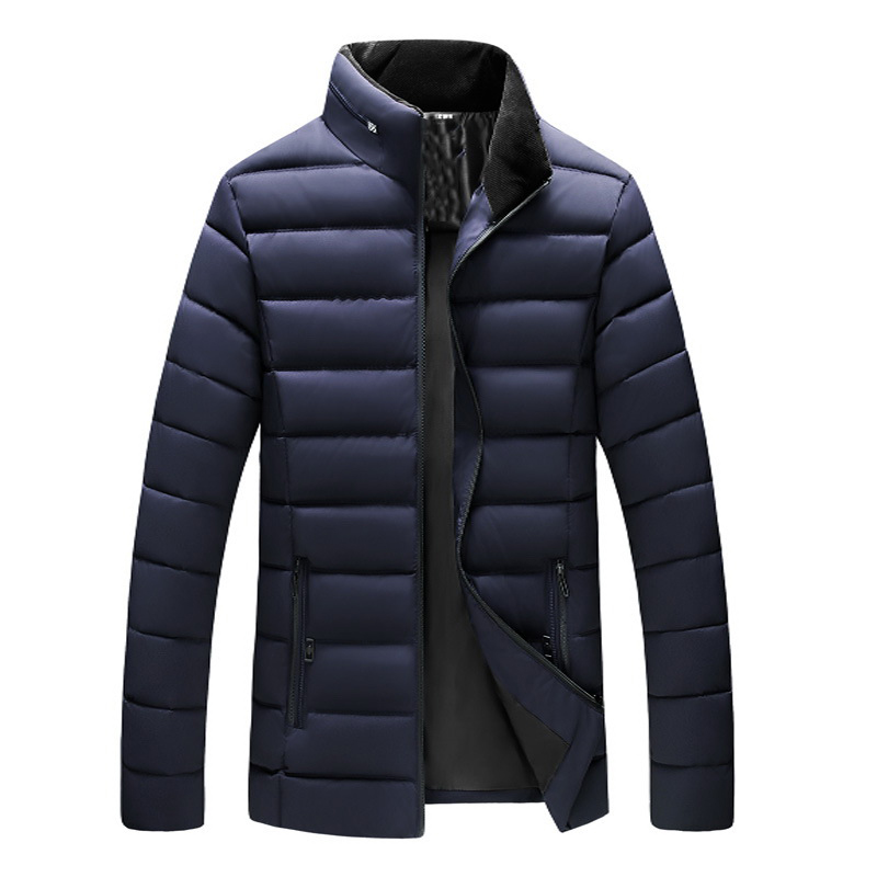 Image of Herren Dicke warme Outdoor Light Padded Jacke Isolierter Mantel