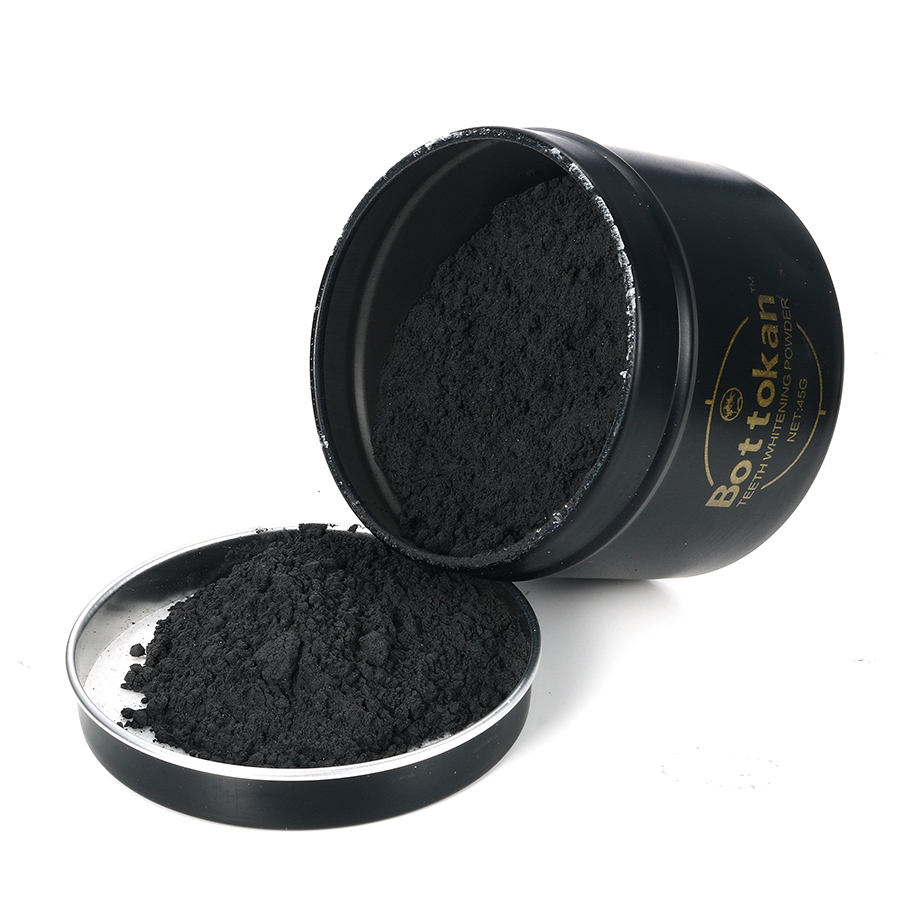 45g Teeth Whitening Powder Activated Bamboo Charcoal Menthol Dental Scaling
