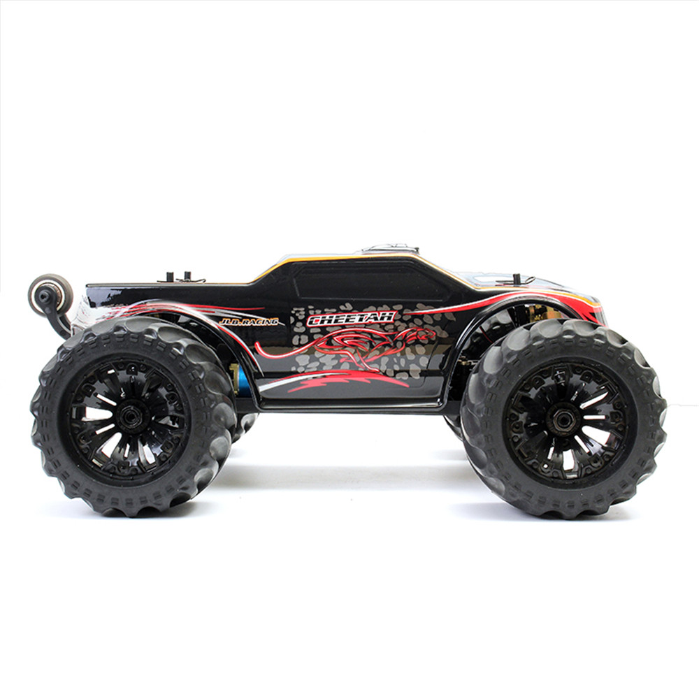 JLB 2.4G Racing CHEETAH 1/10 Brushless RC Car Monster Buggy 80A Trucks 11101 RTR With Battery