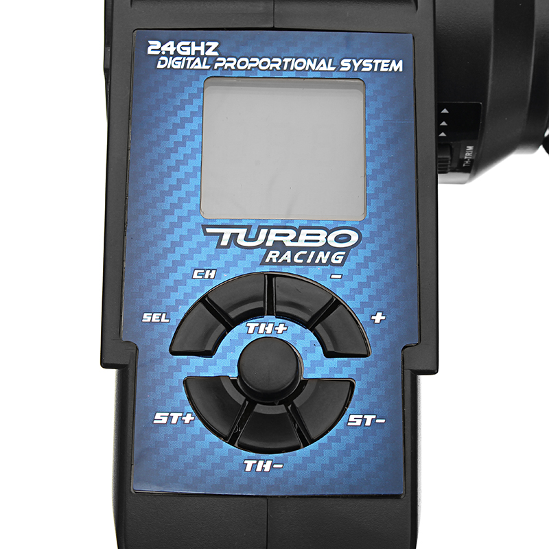 Turbo 92100 2.4G 3CH Remote Control Transmitter With Receiver LCD Screen For RC Car Boat Spare Parts