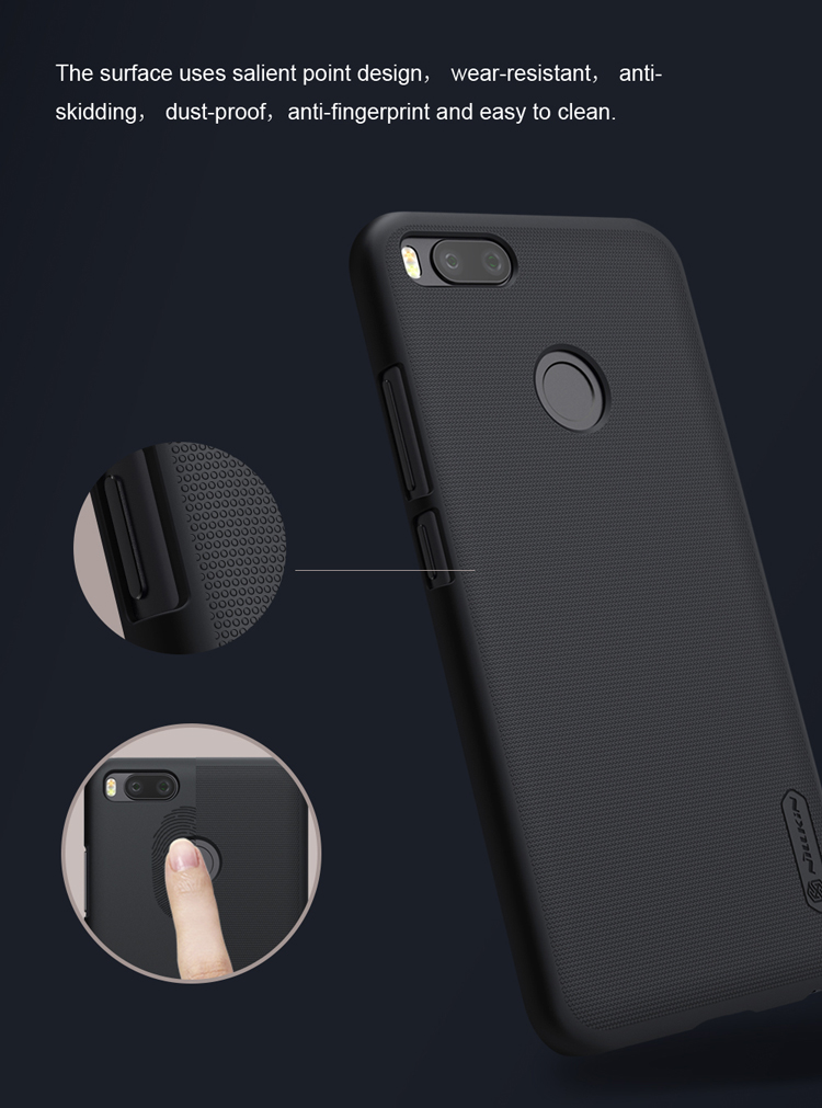 NILLKIN Frosted Shield PC Hard Back Cover Phone Case For Xiaomi Mi 5X / Mi A1 / MiA1 Global Edition