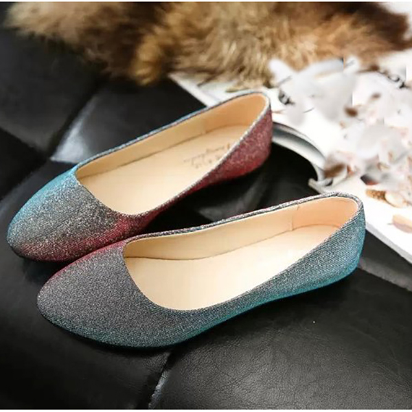 Shoes Women Comfortable Casual Soft Fashion Slip On Pointed Toe Suede Flat Loafers Shoes