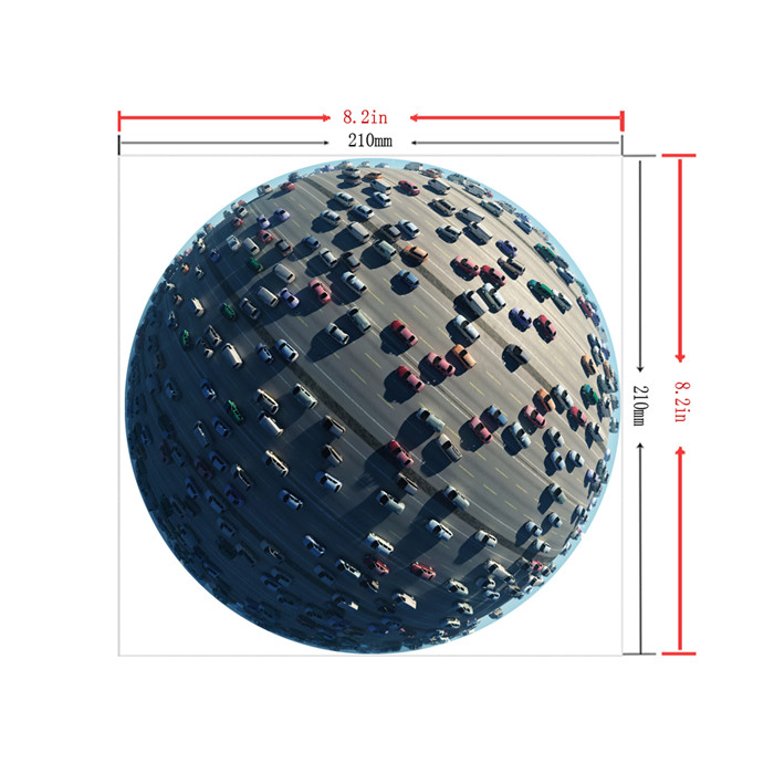 Mouse Mat Sticker Pad Decals Globe Cars PAG Waterproof Removable Desk Stickers Home Decor Gift