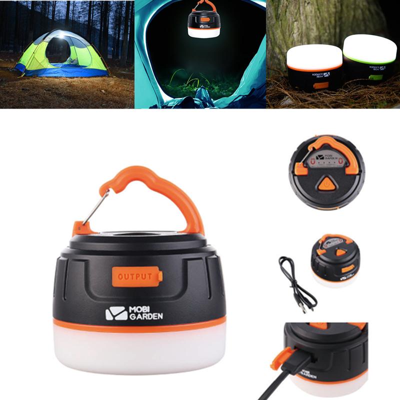 Multifunction Camping Light 20-198LM LED Flashlight SOS