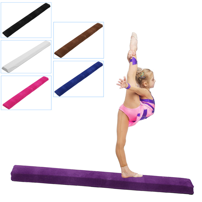120cm Balance Beam Yoga Mats Flannel Software Stitching Gymnastics Children Training Gym Sports