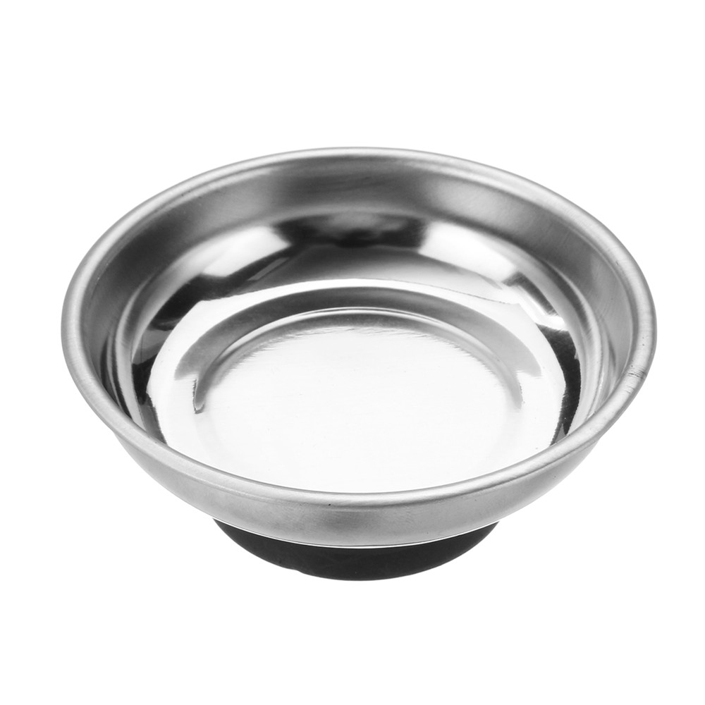 Effetool 3 Inch Magnetic Parts Tray Portable Magnetic Nut Bolt Tray Magnetic Orgnization Tool