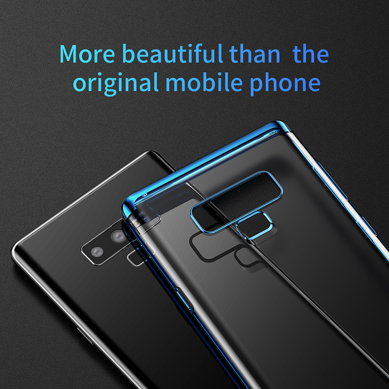 Baseus Clear Plating Soft TPU Protective Case For Samsung Galaxy Note 9