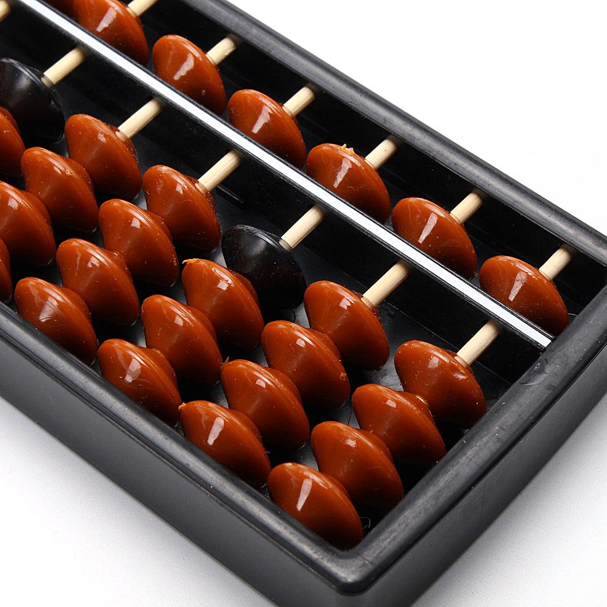 15 Rods Abacus Soroban Beads Column Kid School Learning Aid Tool